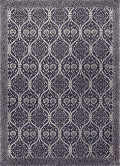 Savannah, charcoal/silver – This collection combines traditional patterns with a modern day aesthetic to create perfect designs for a transitional style.  These classically refined and ethically crafted Tibetan rugs combine the unique style and unequaled craftsmanship that New Moon is best known for.