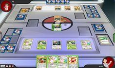 Pokemon playing table