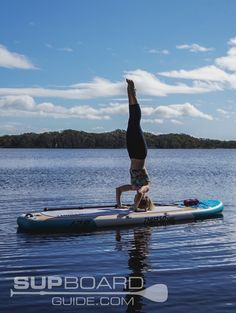 Thurso Surf Tranqulity Yoga SUP Review - SUPBoardGuide.com Waterproof Phone Case, Waterproof Speaker, Cheap Pumps, Inflatable Sup, Camping Mattress, Sup Yoga, Downward Dog, Best Stretches, Paddle Boarding