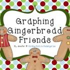 FREE Gingerbread Friends Graphing center!