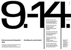 Breker (Walter, DE) 1959 Der Mensch und die Arbeit Hochschulwoche Düsseldorf Plakat A1 | Flickr - Photo Sharing!