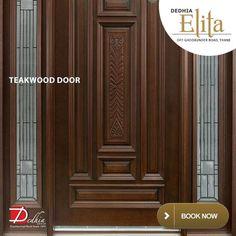 Dedhia Elita  Teakwood Door  www.dedhiagroup.com