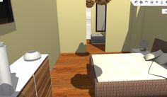 VIV.B vista de dormitorio principal hacia vestidor