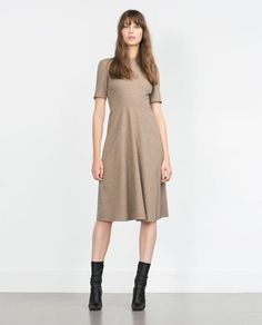 DRESS WITH FULL SKIRT-View all-Dresses-WOMAN | ZARA United States