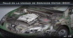 Fallo en la Unidad de Servicios Motor (BSM)