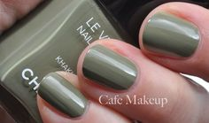 L'oreal Colour Riche Safari Chic is a total dupe for this Chanel Khaki Vert!