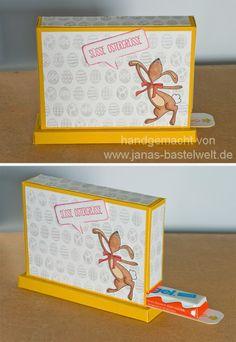 Janas Bastelwelt - Unabhängige Stampin' Up! Demonstratorin: Kinderriegelspender zu Ostern
