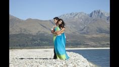 Indian movie stars Sonam Kapoor and Imran Khan filming 'I have luv story's' near Queenstown.New Zealand landscapes inspire Bollywood and beyond -