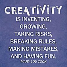 Creativity! #handmade #create #sew #fabric #quilting #fabricinabox #craft