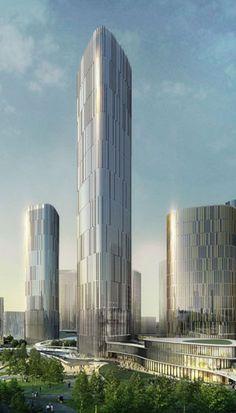 Zhongxun Times, Chongqing, China by 10 Design :: 33 floors