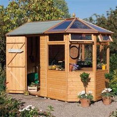 shed/greenhouse combo!