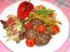 ★Sevinç YİĞİT ARABACI ★  #Firinyemekleri #Kofte #Patates #Piyaz #Turkishfood #food #yemek #yummy #delicious