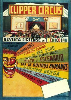 Clipper Circus : Technicolor circus magazine,  Anonymous, 1950?. Biblioteca Valenciana Digital, Bivaldi. Public Domain.