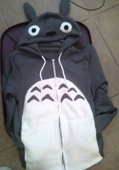 Totoro hoodie. I need this...for business reasons and stuff.