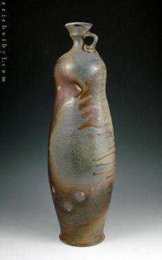 Amphora, Flasks, & Bottles « ericbotbyl Flasks, Ceramic Pottery, Bottles, Vase, Ceramics, Home Decor, Ceramica, Pottery, Decoration Home