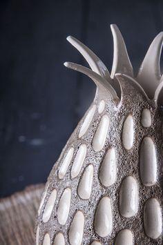 """Ceramic vase / Вазы ручной работы. Ярмарка Мастеров - ручная работа. Купить Ваза """"Volcano Love"""". Handmade. Ваза, керамика ручной работы"""