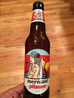 2016 Cony Island Brewing Co.  Mermaid Pilsner #beer #conyisland #mermaid #pilsner