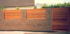 Amazing fence idea from: www.crslandscapes.co.uk