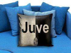 Juventus Pillow Case #pillowcase #pillow #cover #pillowcover #printed #modernpillowcase #decorative #throwpillowcase