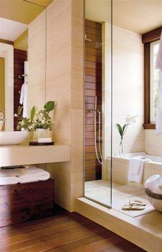 Effetto legno - Ceramiche effetto legno fra le tendenze di arredamento per il bagno del 2016