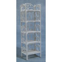 Slim Shelf Unit - Bookcases & Shelves - Bookcases & Shelves - Doll House Furniture - DHE Minis