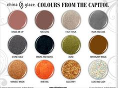 China Glaze Colors From the Capitol. The Hunger Games Edition.