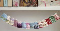 Knitting pattern for a seasonal selection door Littlecottonrabbits, £4.75