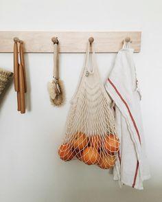 Net produce bag, Parisian market tote