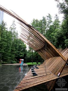 Rocco Design Architects | Bamboo Construction at MOCA | photo.zhulong