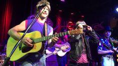 Miranda and Dierks sing as their 90's alter egos - see article at http://www.rollingstone.com/music/videos/watch-miranda-lambert-join-dierks-bentleys-wig-tastic-nineties-cover-band-20150226