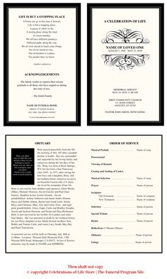 A grande display of swoops and swirls gracefully set this formal program monogram template design with soft beige background and handsome border. Monogram Template, Monogram Frame, Funeral Program Template Free, Funeral Planning Checklist, Funeral Memorial, Text Overlay, Letter Size Paper, As You Like, Templates