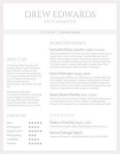 89 Best yet Free Resume Templates for Word | Sample resume, Resume ...
