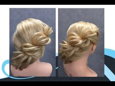 Twisten makkelijk kapsel, easy hairstyle - YouTube