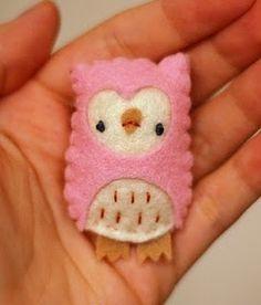 Felt Owls.