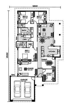 The Orpheus « Australian House Plans Australian House Plans, Australian Homes, Best House Plans, House Floor Plans, Modern Houses, Big Houses, L Shaped House Plans, Circle House, Architectural Floor Plans