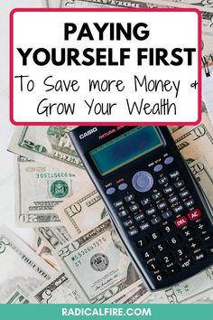 Do you want to save more money? Pay yourself first! Save money for your future self, including the best money tips and financial advice. Avoid living paycheck to paycheck and find the exact steps to build wealth #savemoney #payyourselffirst #personalfinance #financialfreedom Save Money On Groceries, Ways To Save Money, Money Tips, Money Saving Tips, How To Make Money, Pay Yourself First, Setting Up A Budget, Dividend Investing, Creating Wealth
