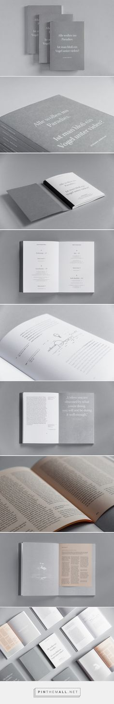 One Day in Paradise. Creative Individuality Amongst the Crowd. Bachelor's Thesis, Editorial Design, Illustration by Stefanie Brueckler