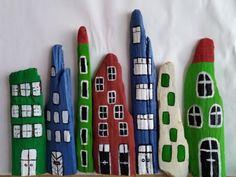 Häuser aus Treibholz Art Supplies, Driftwood