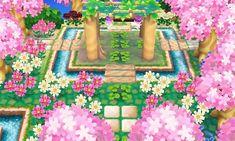 Town inspiration: whimsical cherry blossom garden
