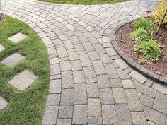 Walkway Inspiration Ideas - Legends Landscape Supply Inc. Landscaping Supplies, Yard Landscaping, Modern Garden Design, Walkways, Legends, Sidewalk, Landscape, Inspiration, Ideas
