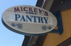 Mickeys Pantry at Downtown Disney! Always have to take a peek! Why not bring some of the magic home to cook with!