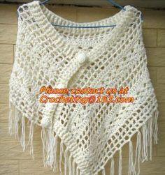 white_fringe_crochet_cape_poncho_shawl_wrap_jacket_granny_square_pattern_hippie_clothing.jpg (282×300)