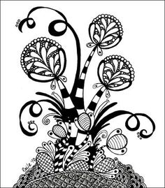 I want to be a Certified Zentangle Teacher too! how fun would THAT be?