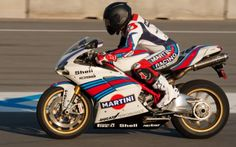 Martini Racing Ducati Showcased During Monterey Historics