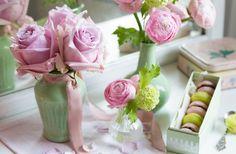 Für den Frühling perfekt rose und mint