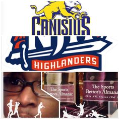 "3/28/15 NCAAB #MarchMadness : #Canisuis #GoldenGiffins vs #NJIT #Highlanders (Take: Highlanders -2.5,Under 141.5) (THIS IS NOT A SPECIAL PICK ) ""The Sports Bettors Almanac"" SPORTS BETTING ADVICE  On  95% of regular season games ATS including Over/Under   1.) ""The Sports Bettors Almanac"" available at www.Amazon.com  2.) Check for updates   My Sports Betting System Is an Analytical Based Formula   ""The Ratio of Luck""  R-P+H ±Y(2)÷PF(1.618)×U(3.14) = Ratio Of Luck  Marlawn Heavenly VII (…"
