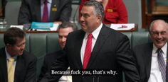 Treasurer Joe Hockey doubts whether GST and company tax will exist in 40 years http://www.smh.com.au/federal-politics/political-news/treasurer-joe-hockey-questions-whether-gst-and-company-tax-will-exist-in-40-years-20150308-13ycxr.html… #HockeyFairfax