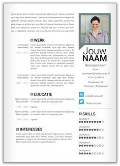 1000 Images About Cv Tips On Pinterest Van Resume And