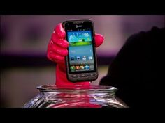 Samsung Rugby Pro toughens up Android. - Why is the CNET lady hydrophobic? #gadgets