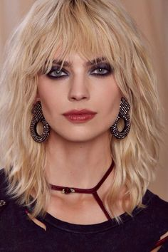 Enter the Nasty Galaxy. Shop the latest women's clothing and fashion accessories online from Nasty Gal. Medium Shag Haircuts, Long Shag Haircut, Shag Hairstyles, Hairstyles With Bangs, Medium Hair Styles, Short Hair Styles, Mullet Hairstyle, Different Hair Types, Grunge Hair